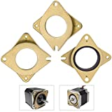 RMENOOR 3PCS Amortiguador de Vibración para Motor Amortiguador Paso a Paso para Impresora 3D de Acero y Goma Amortiguador de Golpes para 42 40 Motores para Ender 3 Creality CR-10 CR-10S