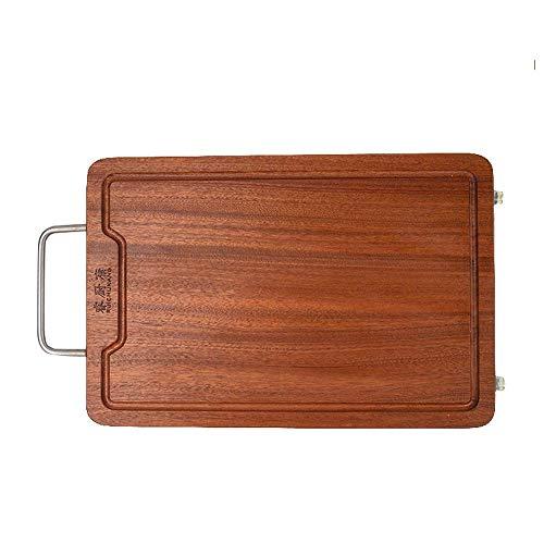Veiligheid Grote Hout snijplank met Juice Groove Cutting Boardndash; Heavy Duty Wood Dienblad for het hakken met vlees-, groente Kaas gift dljyy (Size : 500×320×30)