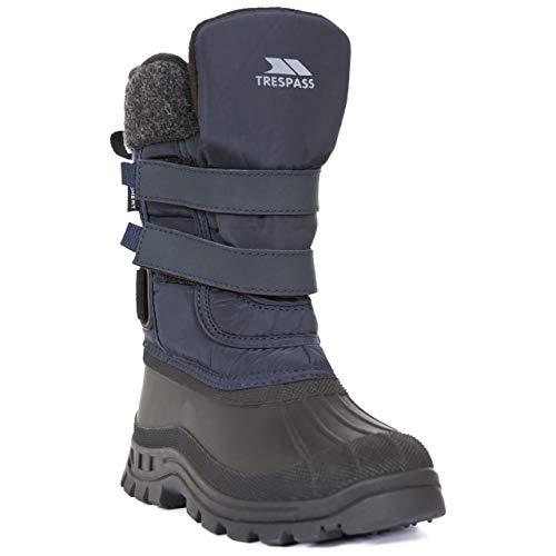 Trespass Strachan II buty zimowe dla chłopców, niebieski - niebieski Navy - 29 EU