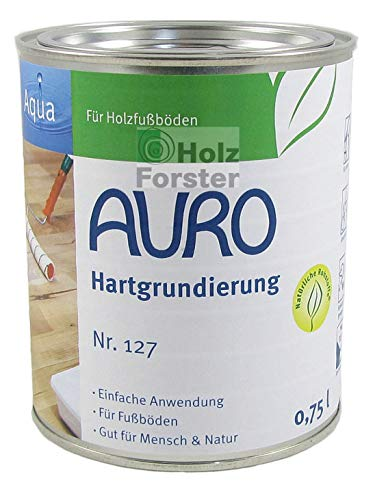 AURO Classic Hartgrundierung Nr. 127 Farblos, 0,75 Liter