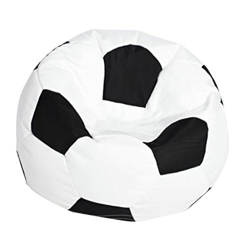 HomeDecTime Sitzsackhülle Sitzsack Sitzkissen Sitzsäcke Abdeckung Fußball Bean Bag Kinderzimmer Deko