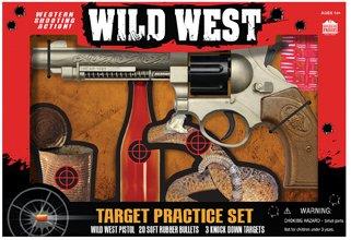 Wild West Target Practice Set Toy Gun