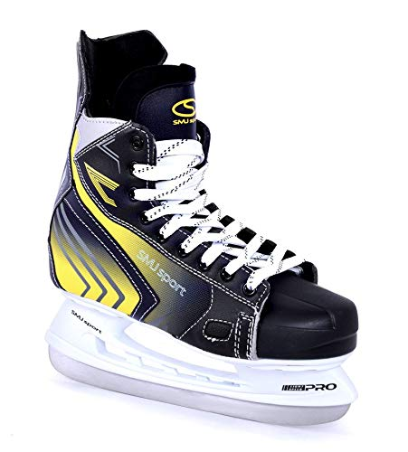 SMJ Vancouver Herren Hockey Schlittschuhe Eislaufschuhe Hockeyschlittschuhe Eishockey | Größen: 42, 43, 44, 45, 46 (45)