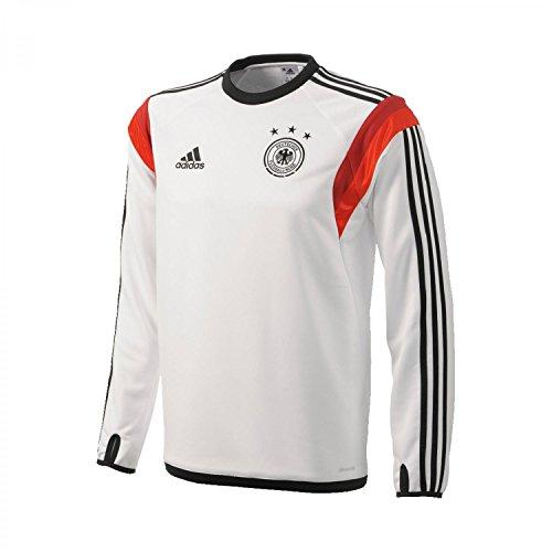 Adidas DFB Deutschland Trainings Shirt / Longsleeve, weiß