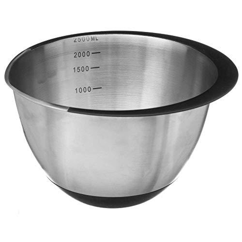 Secret de Gourmet - Bol à mixer rebord rubber 2.2L