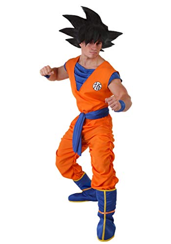 Adult Dragon Ball Z Costume Men's Goku Costume X-Large Orange,Blue