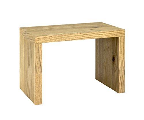 HAKU Möbel 15625 Beistelltisch, Echtholzfurnier Eiche, 50 x 30 x 35