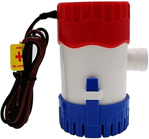 DAYDAY helper Automatic Submersible Small OFFicial mail order Bilge Boat Pump 350GPH Max 84% OFF