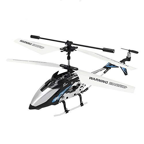Kioiien RC Plane, 3.5 canales Control remoto Helicóptero Gyro incorporado, al aire libre para exteriores Aleación resistente a la caída RC RC Aviones de drone de juguete para niños adolescentes regalo