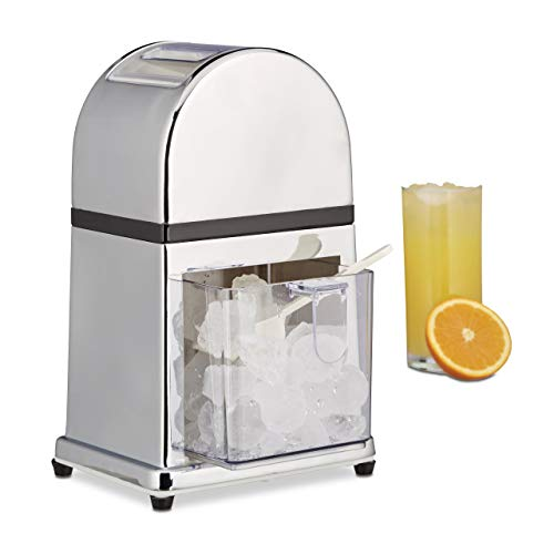 Relaxdays 10021728 Broyeur  Glace manuel Machine  Glace...