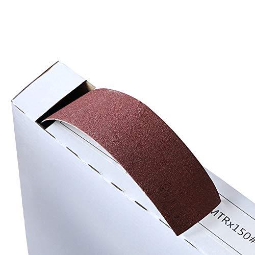 Tape Box Schleifpapier Nylontuchrücken Nass Trocken Schleifpolierschleifscheiben, 320