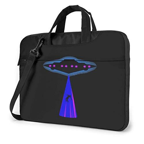 UFO Alien Cute Laptop Case Laptop Shoulder Messenger Bag Sleeve 15.6 Inch