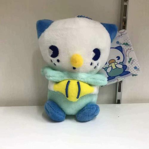 siyat 10 cm Oshawott Plüsch Puppe Anhänger Cartoon Plüsch Spielzeug Anime Spielzeug Wasser System Puppe Tasche Anhänger Kind Spielkameradung Geburtstag Weihnachten Kindheit Geschenk Jikasifa
