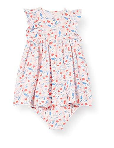 Petit Bateau A002201 Vestido, Fleur/Multico, 1 Mes para Bebés