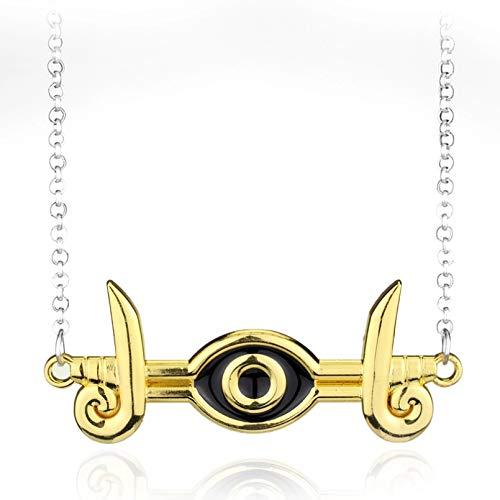 N/A Anime Schmuck Yugioh Cosplay ägyptisches Auge des Horus Yu-Gi-Oh Halskette Yami Bakura Ryo Millennium Auge Halskette Geschenk