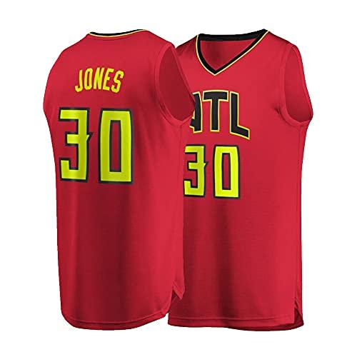 Ropa de Baloncesto Damian Jones # 30 Chaleco sin Mangas de la Camiseta del Baloncesto de los Hombres, Camisa del Baloncesto de Secado rápido del Verano (Color : A, Size : Adult-Small)