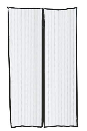 Galileo Casa Zanzibar Muggennet Deur Zwart Teryleen 130xh220 cm, Zwart, Afmetingen: L 130 x H 220 cm