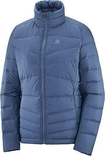 SALOMON Transition Down Jacket W Chaqueta, Mujer, Dark Denim, XL