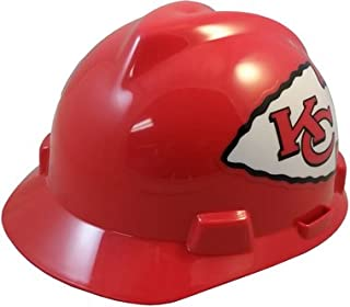 MSA NFL Team Safety Helmets with One-Touch Adjustable Suspension and Hard  Hat Tote - 94da96ac6