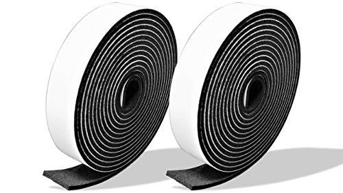 プランプ オリジナル 隙間テープ スキマッチ 黒 ブラック 厚 2 mm × 幅 15 mm × 長さ 2 m 2個入 日本製 ゴムスポンジ 防水 防音 すきま 窓 玄関 引き戸 隙間
