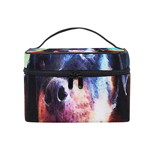 Trousse de maquillage Rottie Puppy Cosmetic Bag Portable Large Toiletry Bag for Women/Girls Travel