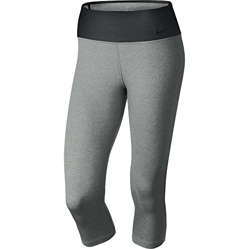 Nike Legend 2.0 Tight Dri Fit Cotton - Pantalones Deportivos para Mujer, Color Gris, Talla M