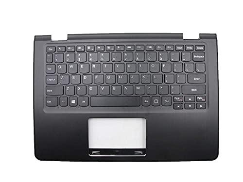 ZGQA-GQA Nuevo Teclado de Repuesto para computadora portátil Bisel Compatible con Lenovo Flex 3-1120 Flex 3-1130 Compatible con Yoga 300-11IBY Compatible con Yoga 300-11IBR 5CB0J08356 Engli