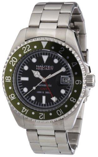 Nautec No Limit DS AT-GMT/STSTGRBK - Orologio da uomo