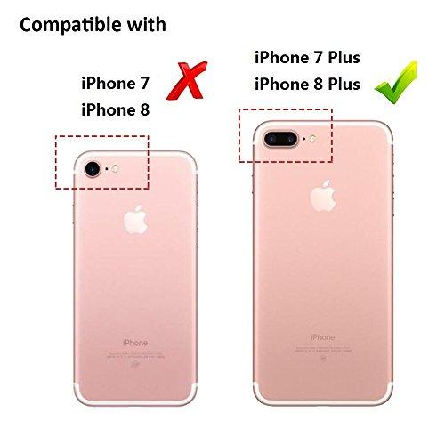 CASESOPHY - Carcasa para iPhone 7 y 7 Plus, tamaño Grande ...