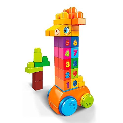 Mega Blocks - Cuenta Conmigo 1,2,3 Bloques de Construcción Bebé 1 año...