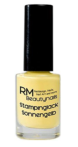 stampinglack sol amarillo 4ml Esmaltes esmalte esmalte de uñas Nail Polish RM beautynails