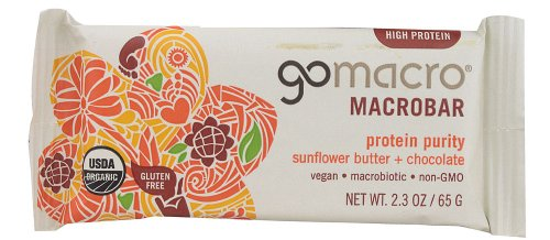 GoMacro - MacroBar Protein Purity Sunflower Butter & Chocolate - 2.3 oz (pack of 2)