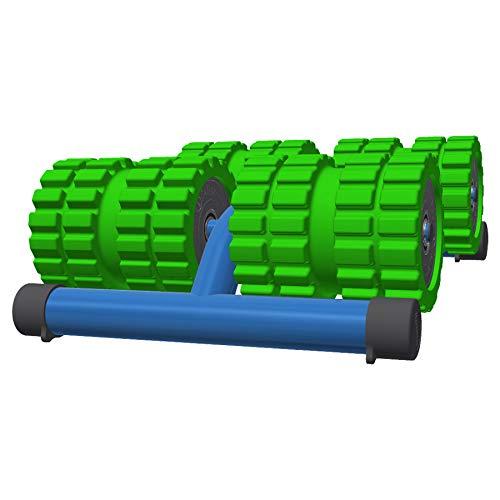 BigBackBaller - Extra Wide Muscle Roller for Deep Pain Relief. Ideal For Runner Cyclist Footballer Athlete