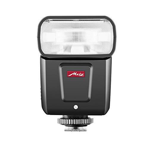 Metz M360 Blitzgerät für Sony (ISO 100/105 mm, 24-105 mm, 14 mm Weitwinkel-Diffusor) Schwarz
