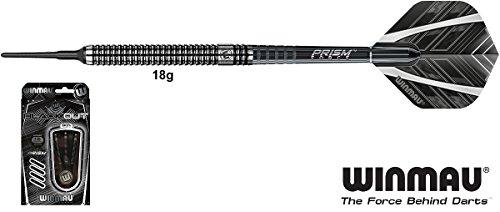 WINMAU Blackout Darts 90% Tungsten Softdarts 18g