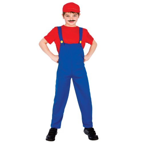 Funny Plumber- Red (8-10) **NEW**