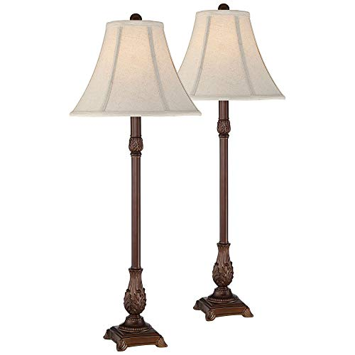Giselle Traditional Buffet Table Lamp Set of 2