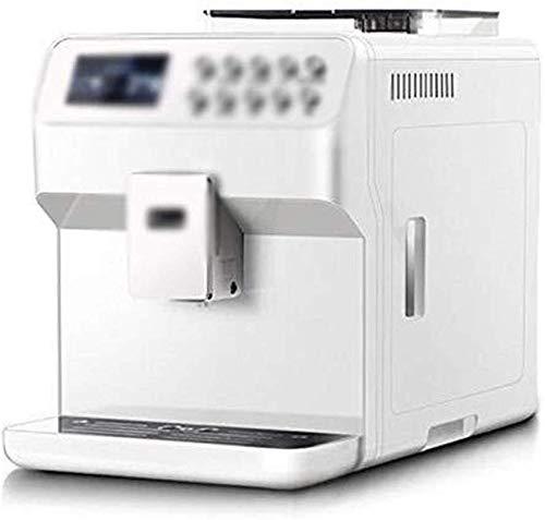 Jsmhh Kaffeemaschinen Espressomaschine Kaffeevollautomat EIN-Knopf Automatische Milchschaumpumpe Kaffee-Maschine Tragbare (Color : White)