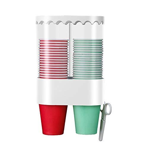 HZLXF1 Selbstklebende Einweg-Becherhalter, Keine Notwendigkeit, zu Bohren, Geeignet for Bars, Restaurants, Home Offices, Kunststoff mit Staubschutz (Color : B)