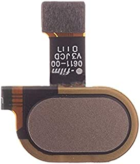 Mobile Phones Communication Accessories Fingerprint Sensor Flex Cable for Motorola Moto E4 Plus XT1773 (Black) (Color : Gold)