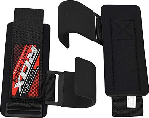 RDX Zughilfen Klimmzughaken Gewichtheben Krafttraining Lastzughilfe Handgelenkstutze - 7