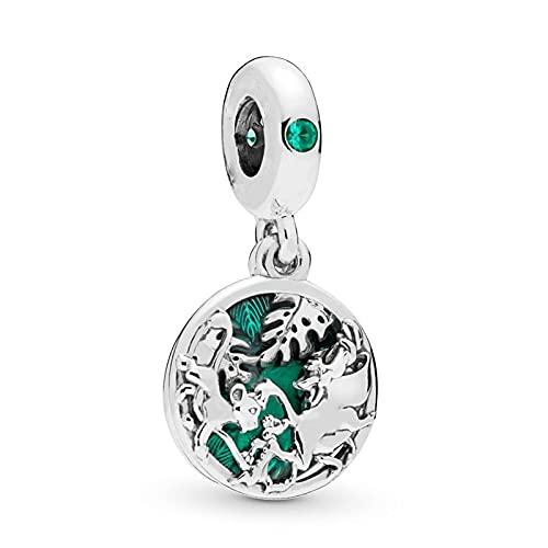 Pandora 925 colgante de plata esterlina Diy NUEVA joyería León colgante Charm fit Original pulsera brazalete cuentas hacer regalo de cumpleaños para mujeres
