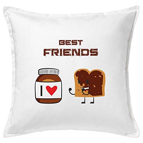 Kissen Nutella Funny Cushion (Weiß)
