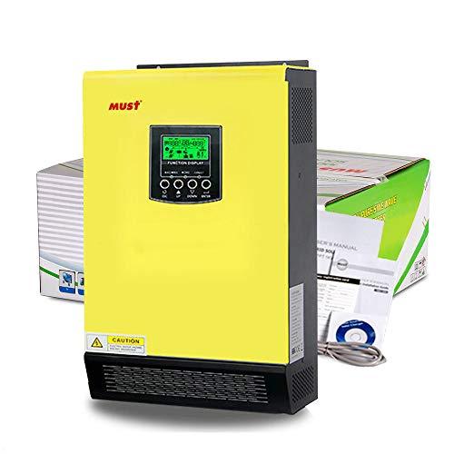 Inversor Híbrido 5.5KW 48V MPPT 90A Cargador 60A 500Vdc   INYECCIÓN A RED/AISLADA/BATERÍAS