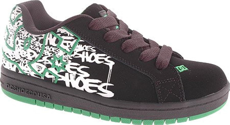 DC SHOES Kids' Court Graffik SE P G (Blk Emerald Wht Prt 11.0 M)