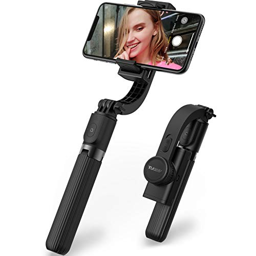 ARTOFUL Selfie Stick Tripod Gimbal Stabilizer for Smartphone with Bluetooth Wireless Remote 360° Rotation Auto Balance Stabilizer Portable Phone Stand for iPhone & Android