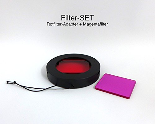 Magic-Filter Filterset (Rotfilter & Magentafilter) für Actionpro X8