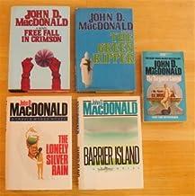 Travis McGee! 5 John B. MacDonald novels: The Turquoise Lament, Free Fall in Crimson, The Lonely Silver Rain, The Green Ri...