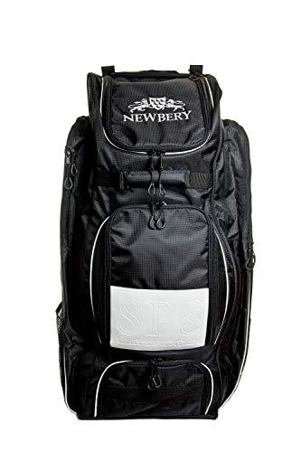 Newbery Cricket SPS Cricket Wheelie Bag, Schwarz, Einheitsgröße
