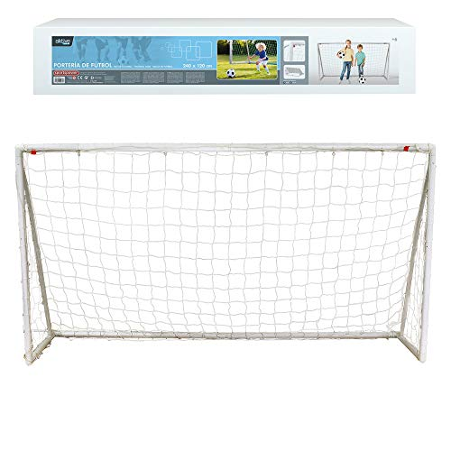 Aktive 54078 - Portería de fútbol plegable 240 x 120 cm Aktive Sports